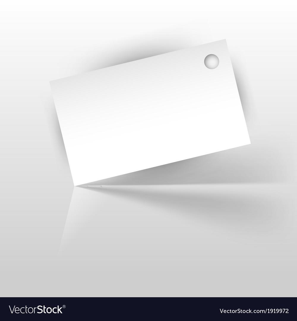 Tag white vector | Price: 1 Credit (USD $1)