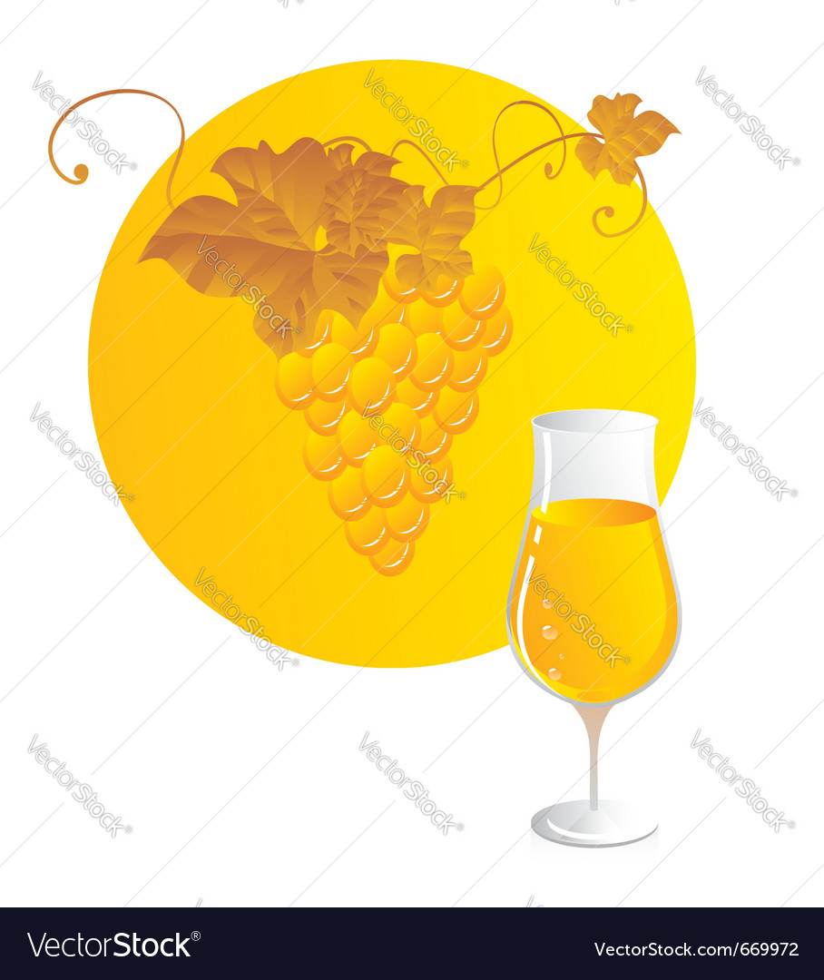 White wine vector | Price: 1 Credit (USD $1)