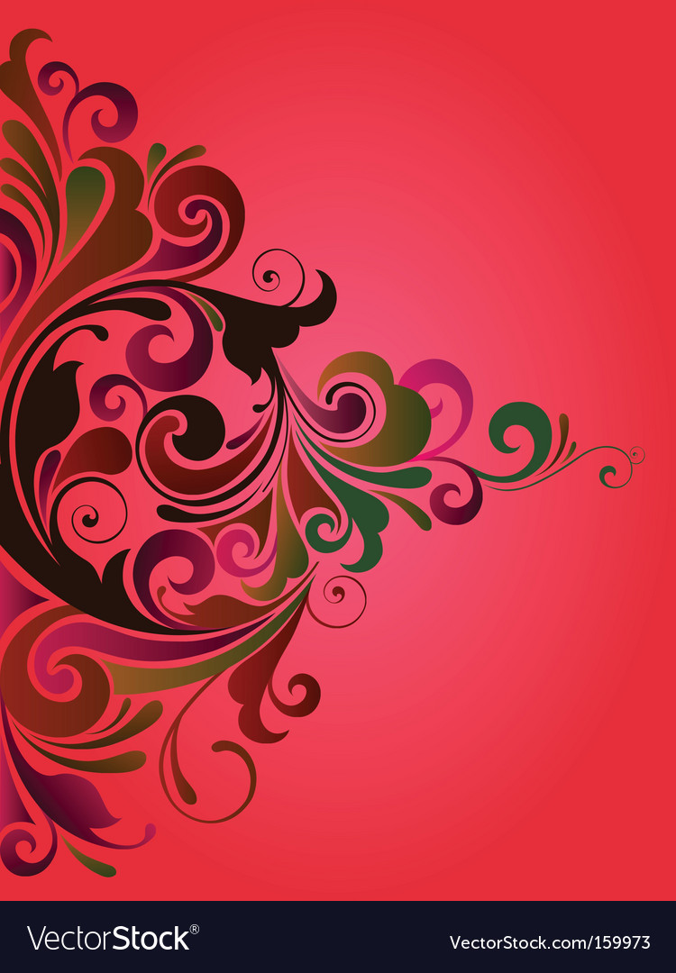 Curly background vector | Price: 1 Credit (USD $1)