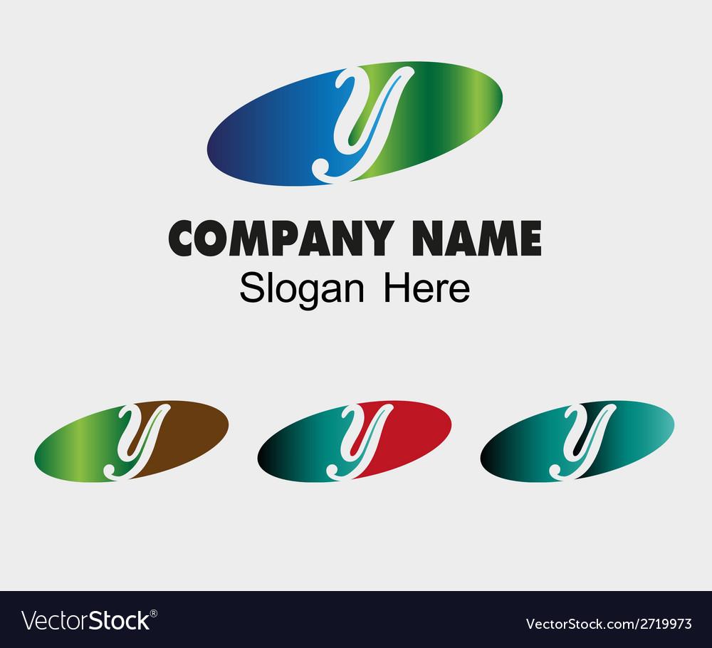 Y logo company name symbol letter y vector | Price: 1 Credit (USD $1)