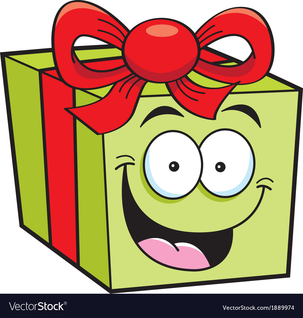 Cartoon gift vector | Price: 1 Credit (USD $1)