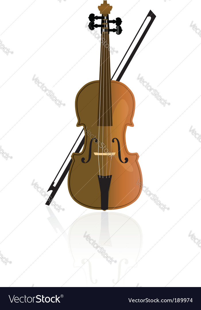 Cello violoncello vector | Price: 1 Credit (USD $1)