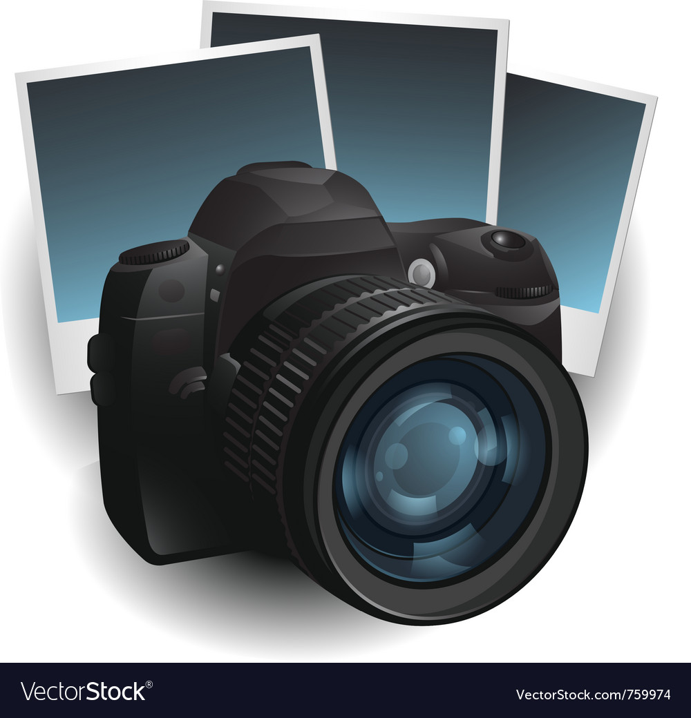 Photo camera vector | Price: 3 Credit (USD $3)