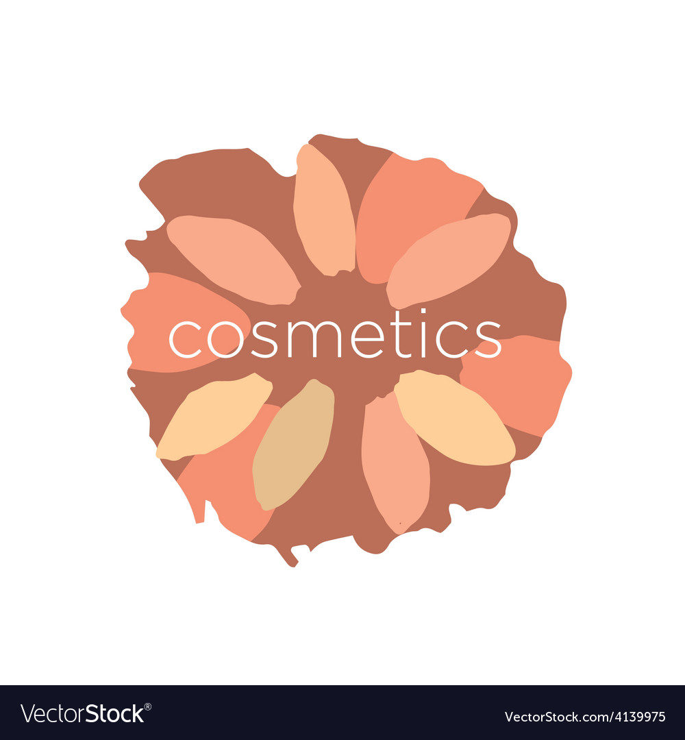 Abstract logo of the petals in a circle vector | Price: 1 Credit (USD $1)