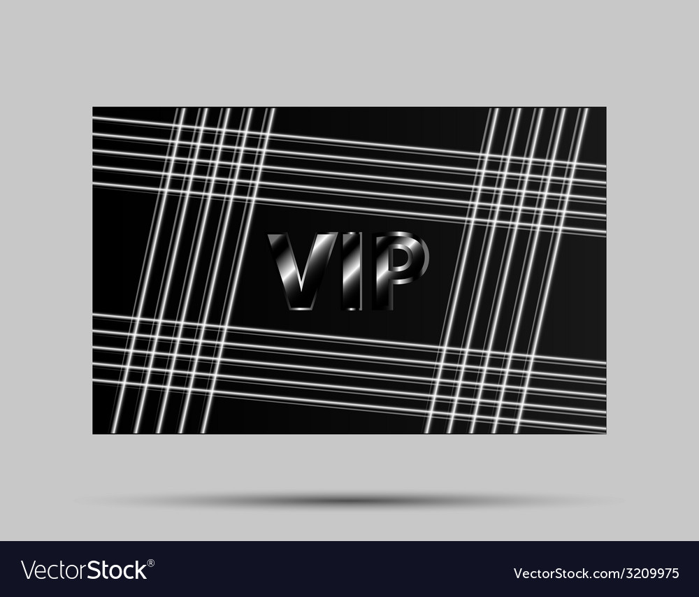 Black vip card vector | Price: 1 Credit (USD $1)