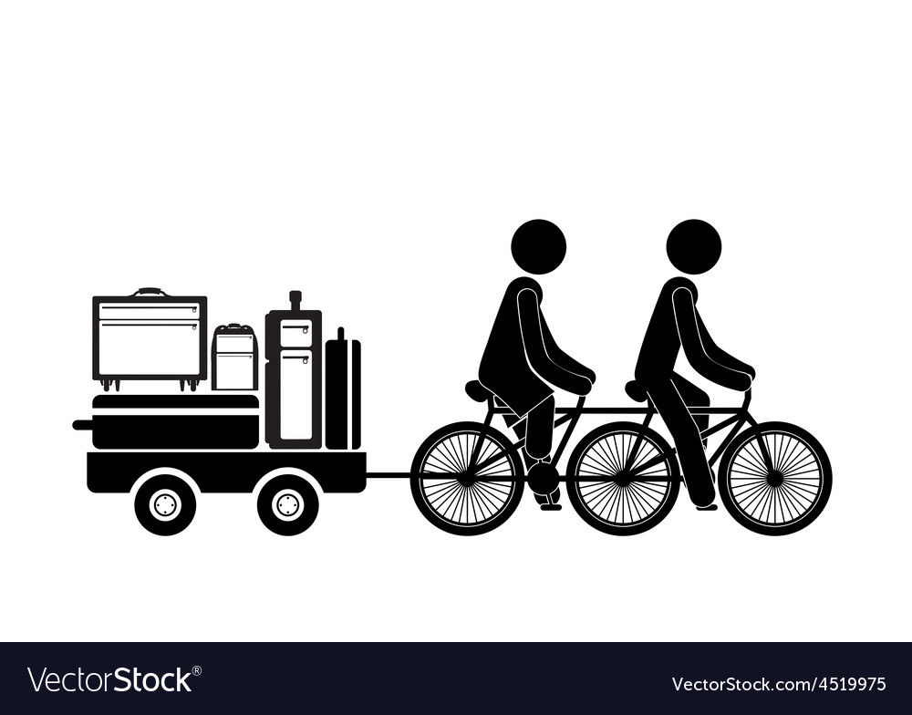 Family travel design vector | Price: 1 Credit (USD $1)