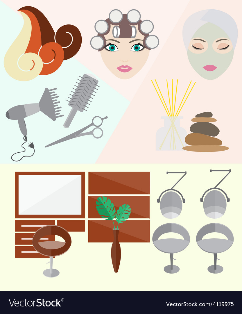 Hairdressing vector | Price: 3 Credit (USD $3)