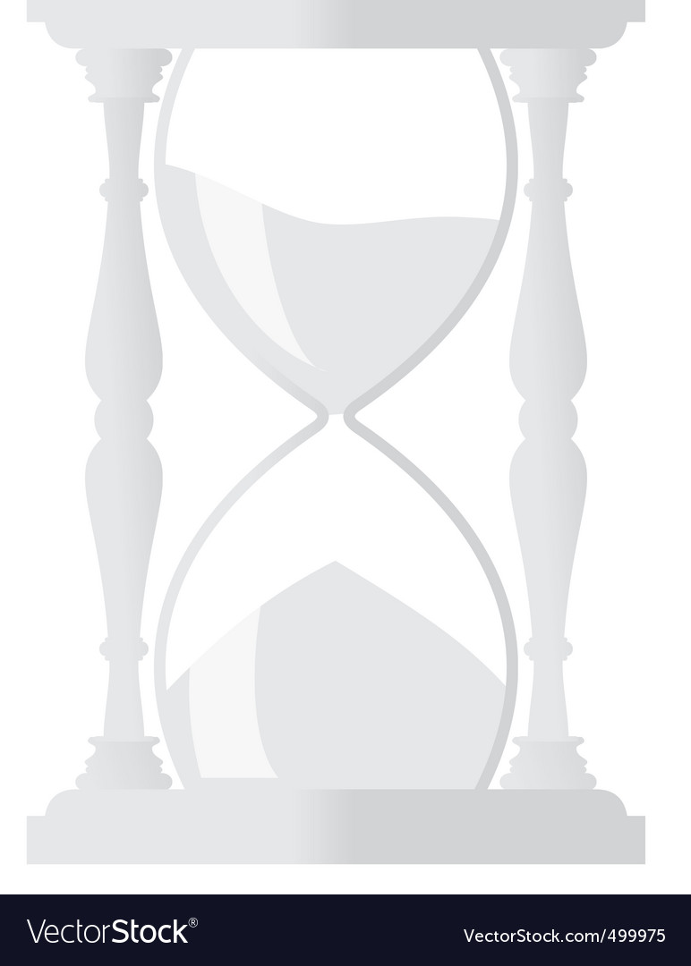 Sand hourglass vector | Price: 1 Credit (USD $1)