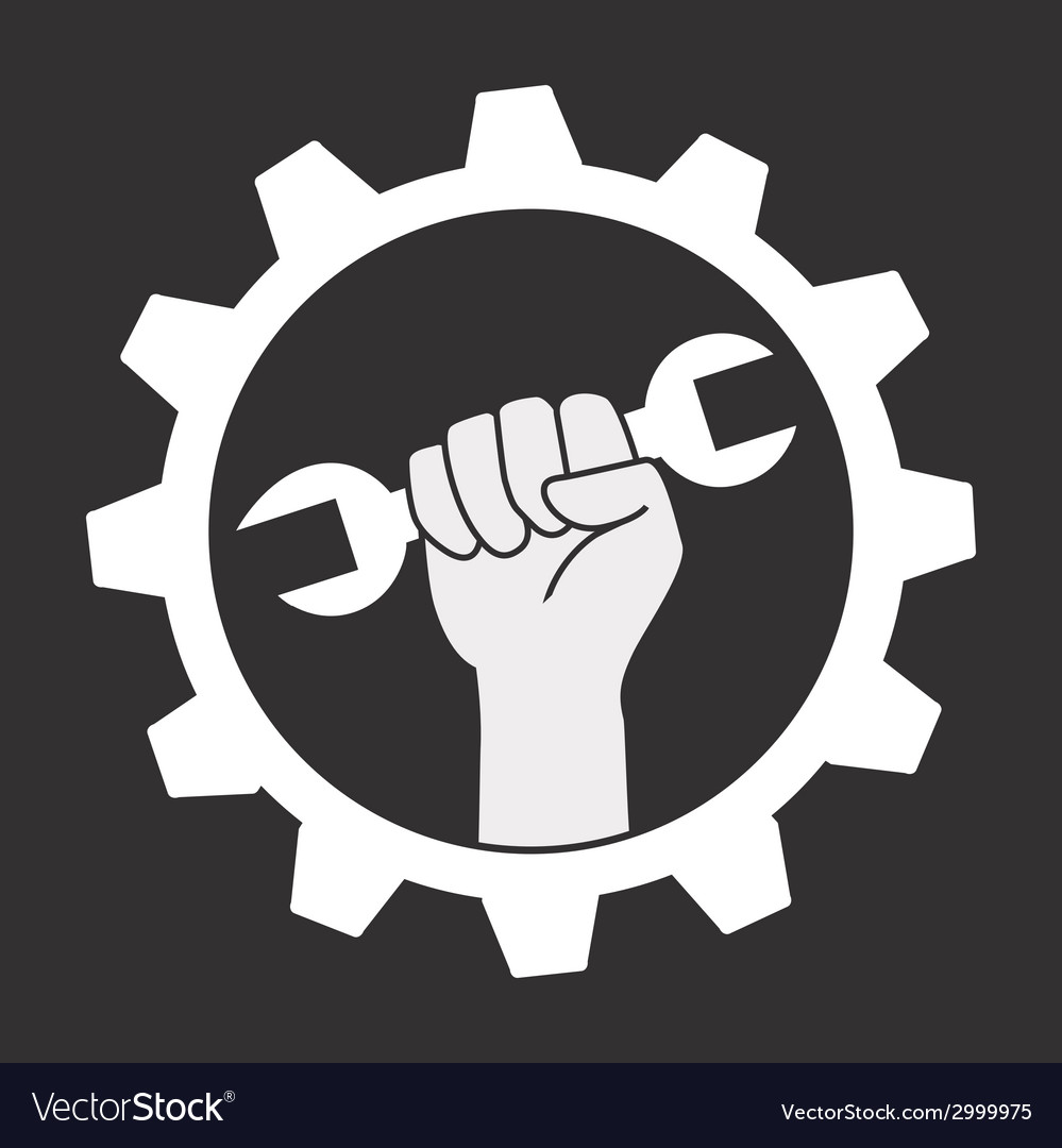 Wrench design vector | Price: 1 Credit (USD $1)