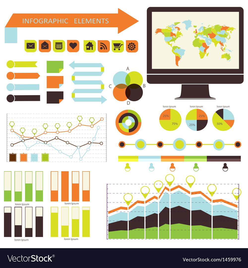Infographic set vector | Price: 1 Credit (USD $1)