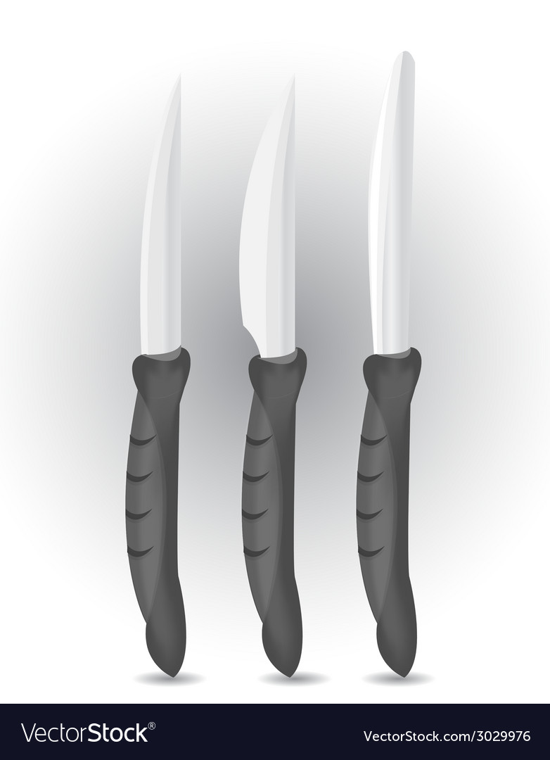 Knife set vector | Price: 1 Credit (USD $1)