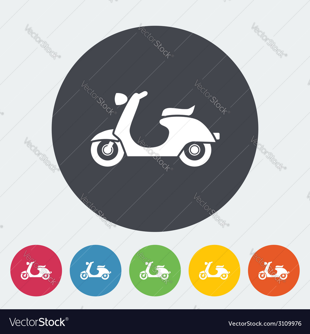 Scooter vector | Price: 1 Credit (USD $1)