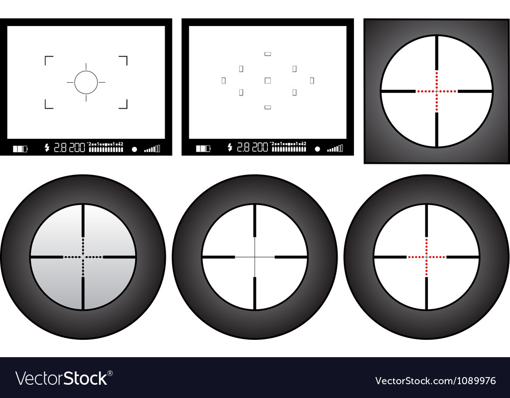 Viewfinder vector | Price: 1 Credit (USD $1)