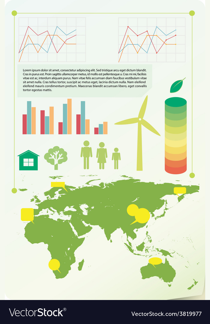 An infochart showing the environment vector | Price: 1 Credit (USD $1)