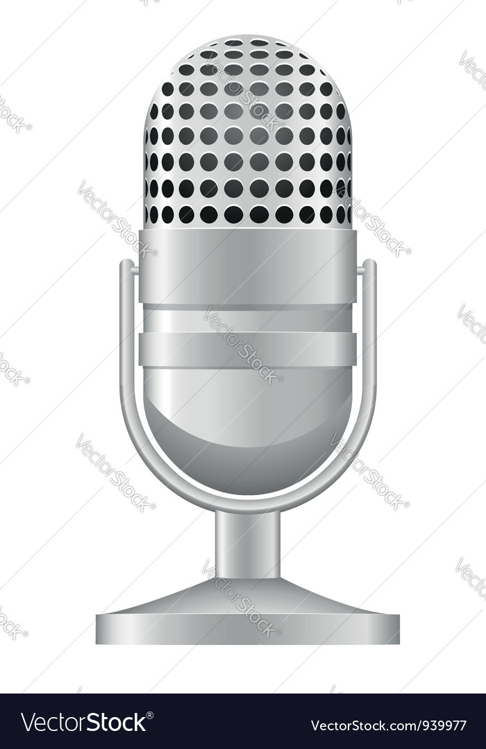 Microphone 04 vector | Price: 1 Credit (USD $1)