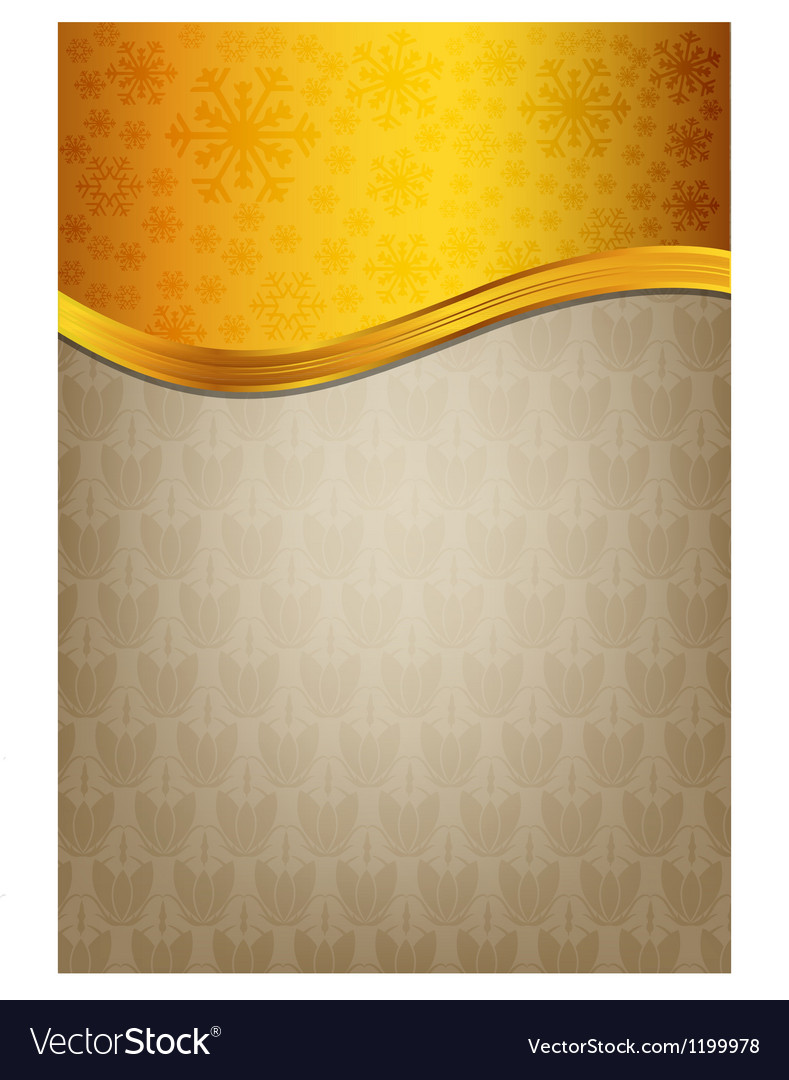 Abstract brown celebration paper with golden vector | Price: 1 Credit (USD $1)