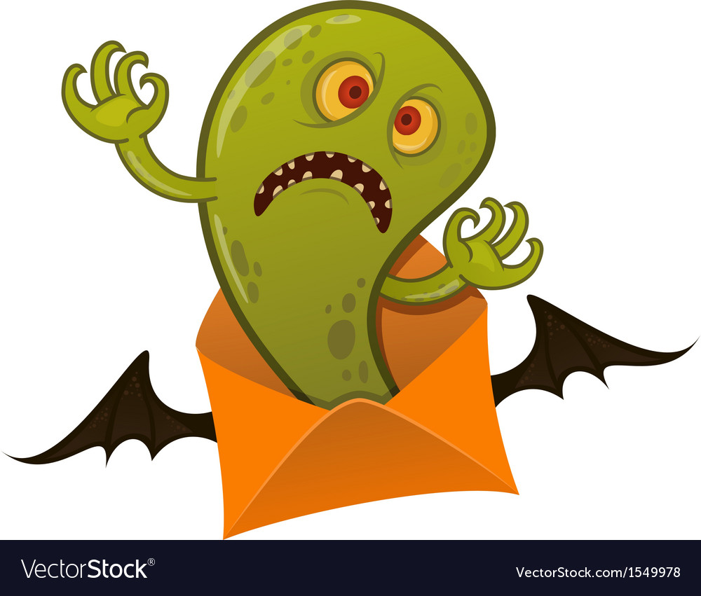 Halloween monster vector | Price: 1 Credit (USD $1)