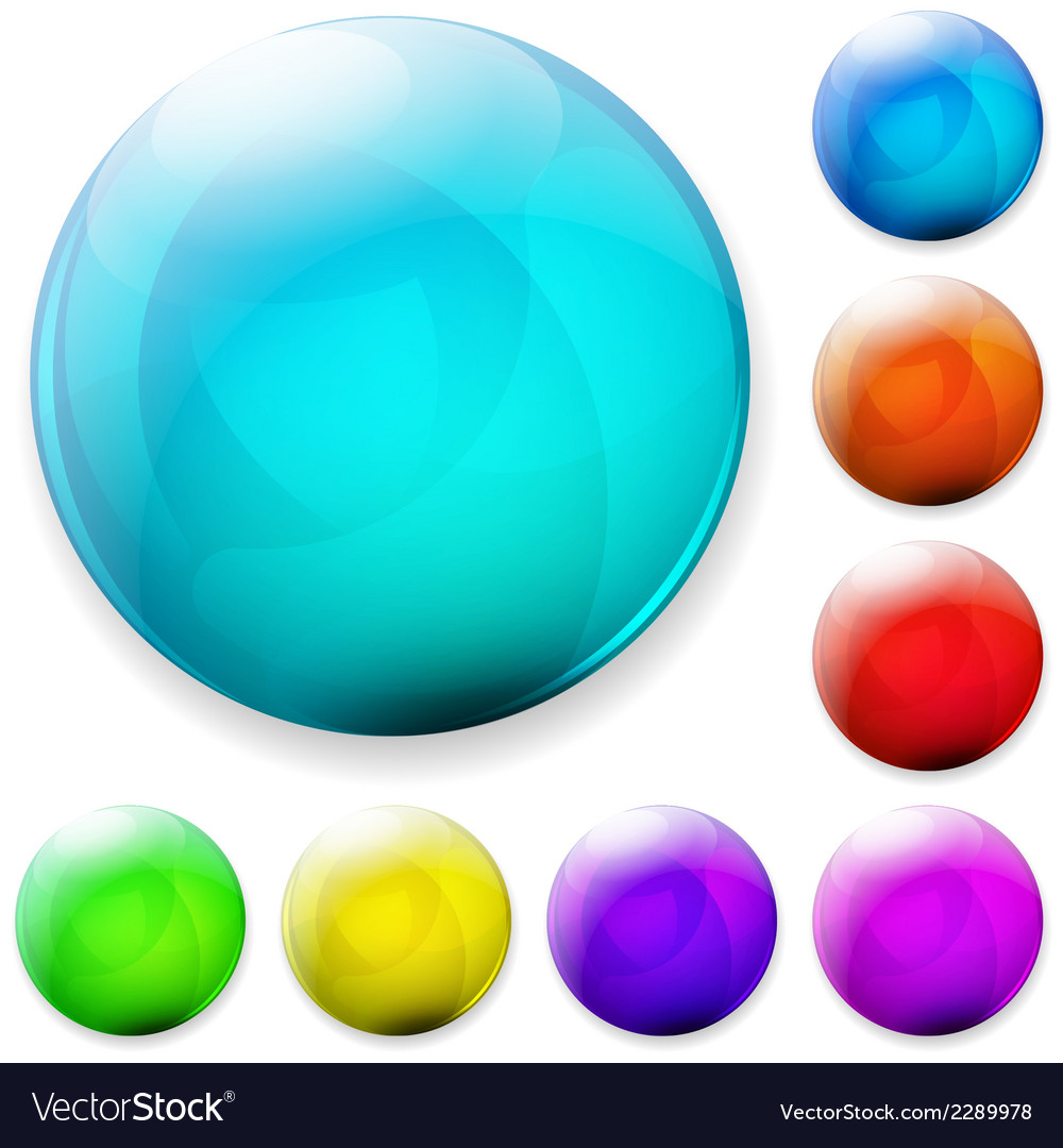 Multicolored buttons vector | Price: 1 Credit (USD $1)
