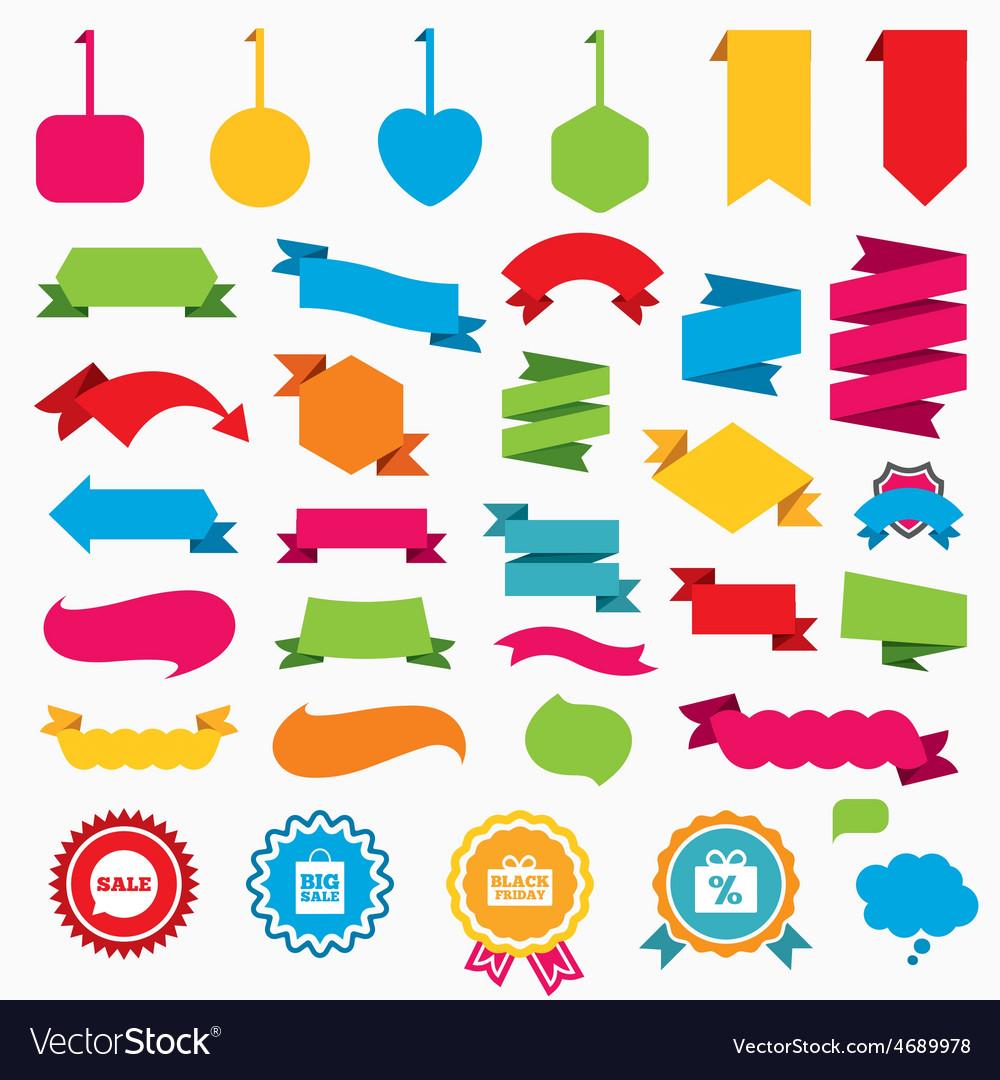 Sale speech bubble icon black friday symbol vector   Price: 1 Credit (USD $1)