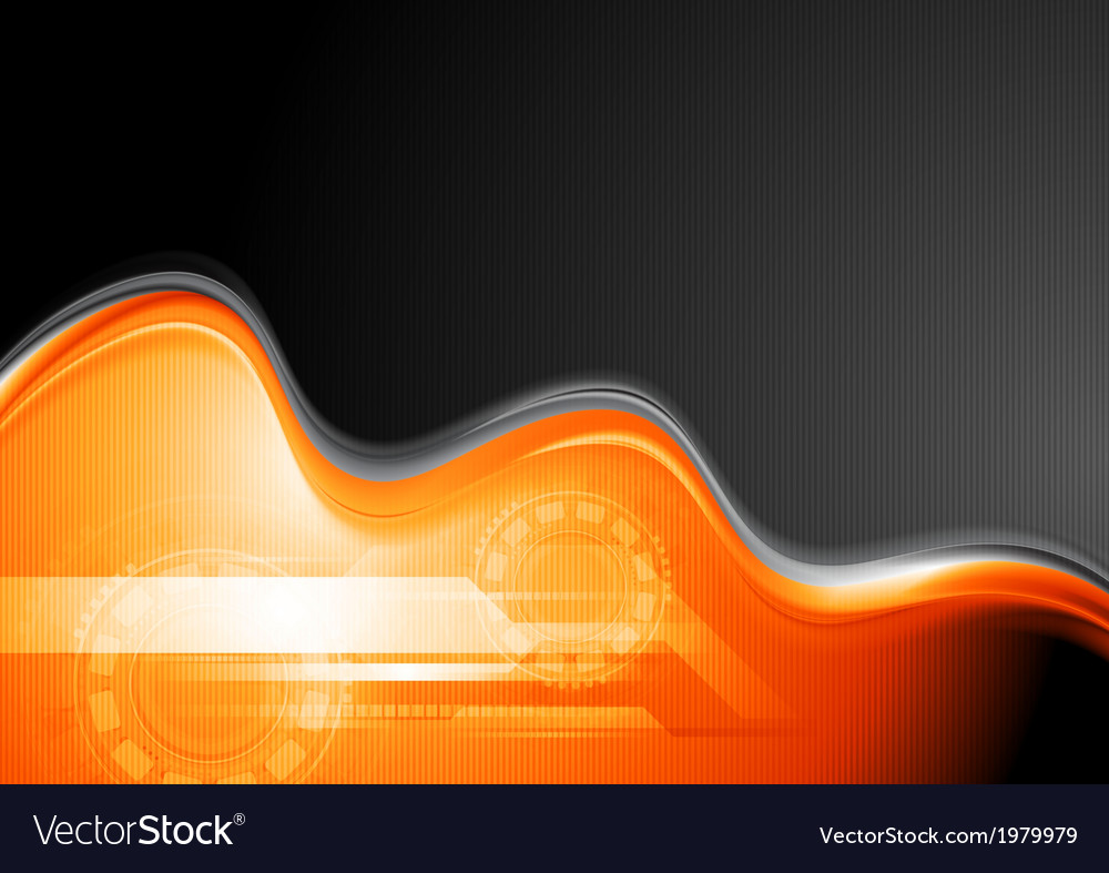 Abstract waves technology design vector | Price: 1 Credit (USD $1)