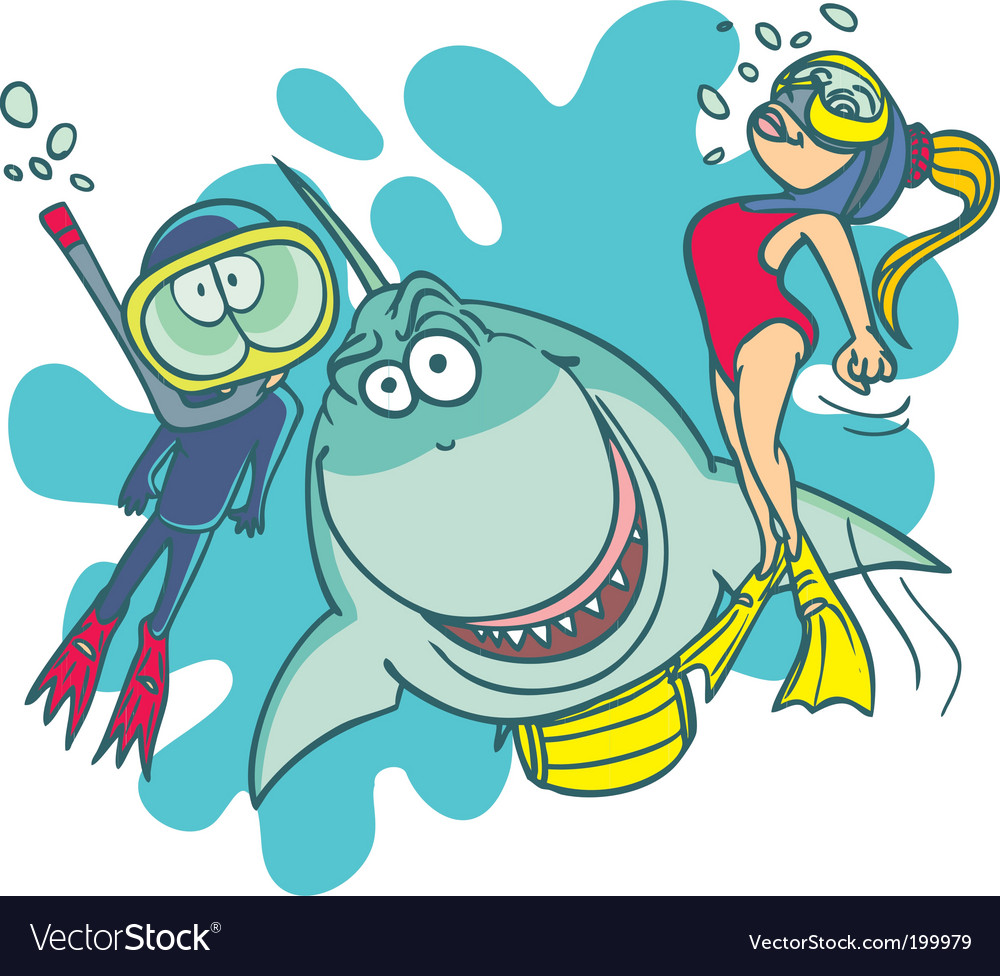 Diving school vector | Price: 3 Credit (USD $3)