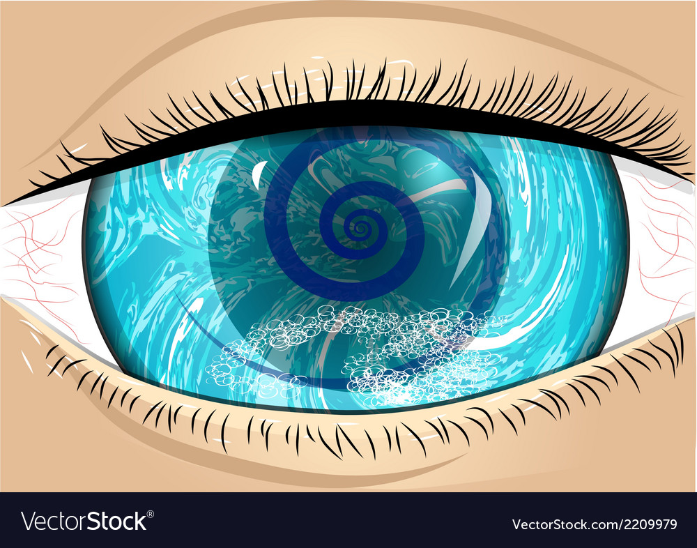 Iris of eye vector | Price: 1 Credit (USD $1)