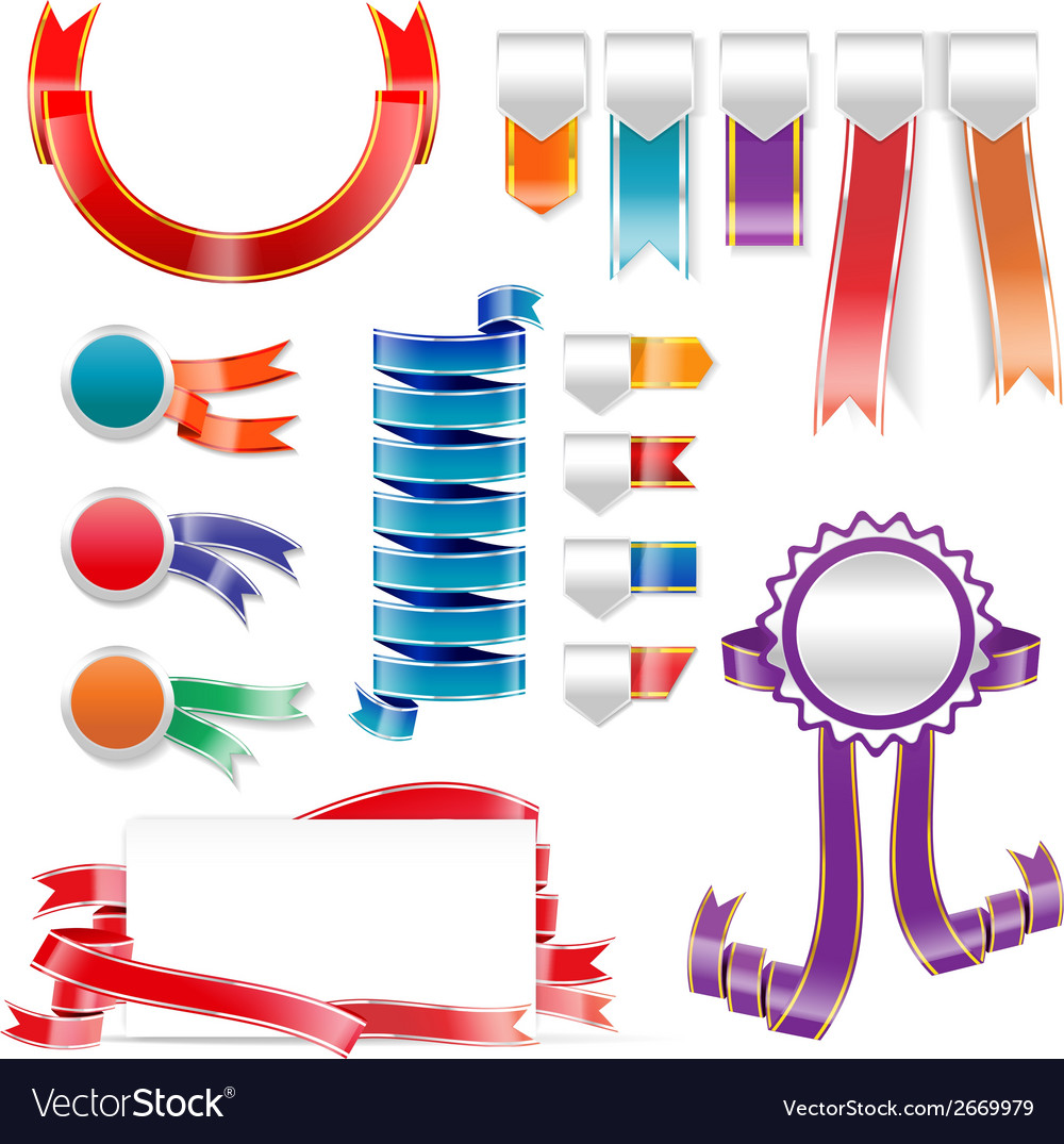 Ribbon tag 006 vector | Price: 1 Credit (USD $1)
