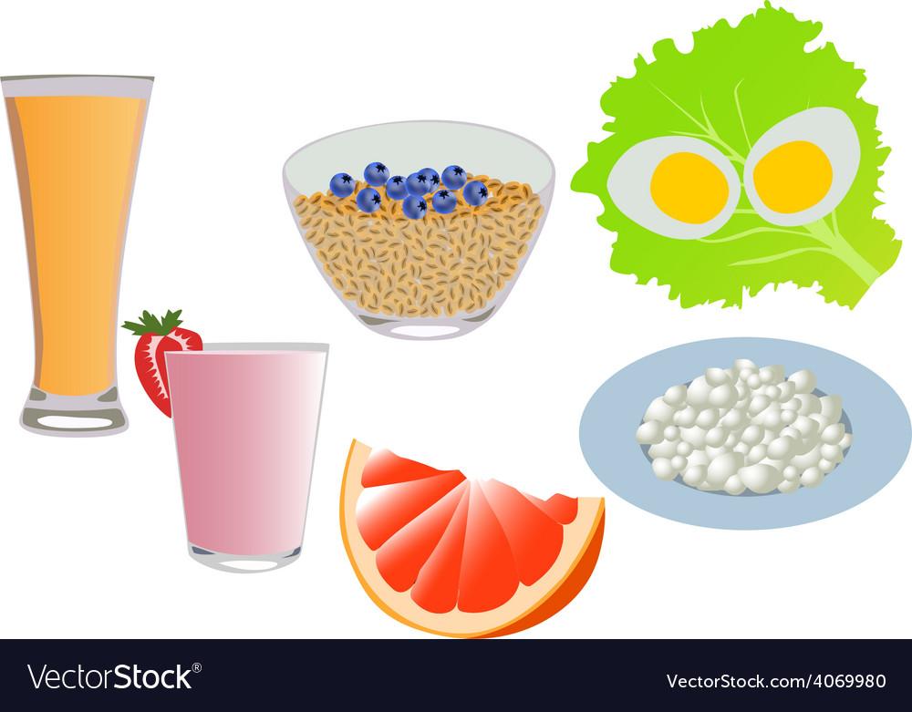 Breakfast vector | Price: 1 Credit (USD $1)