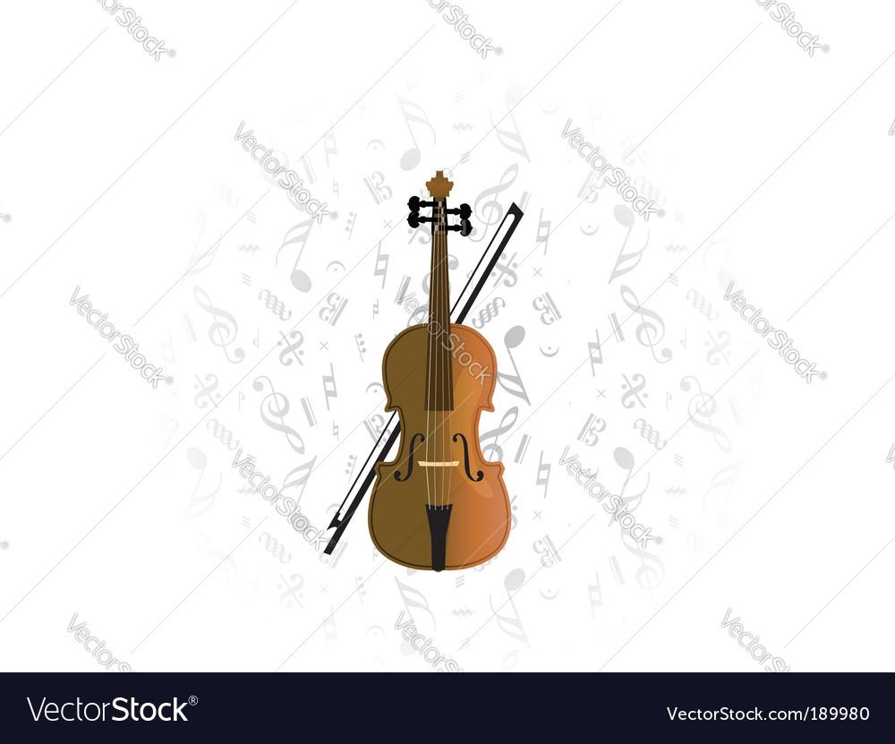 Cello violoncello vector | Price: 1 Credit (USD $1)