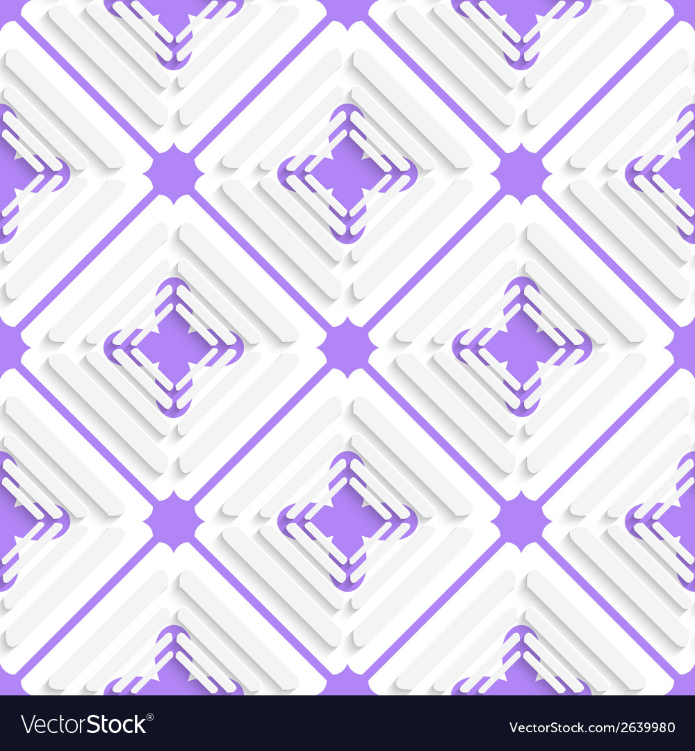 Diagonal offset squares and purple net pattern vector | Price: 1 Credit (USD $1)