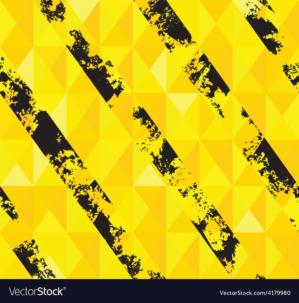 Grungy hazard stripes texture vector | Price: 1 Credit (USD $1)