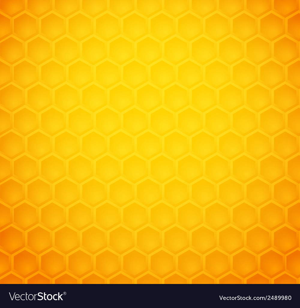 Seamless abstract honeycomb pattern vector | Price: 1 Credit (USD $1)