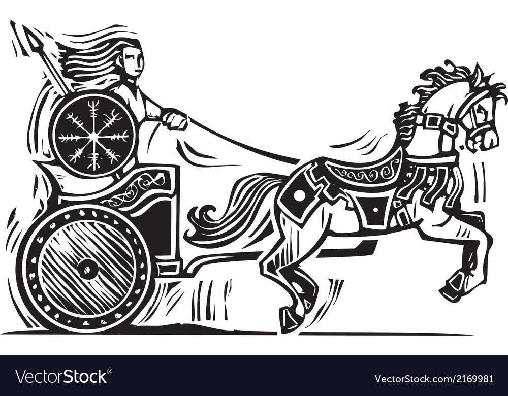 Brigid chariot vector | Price: 1 Credit (USD $1)