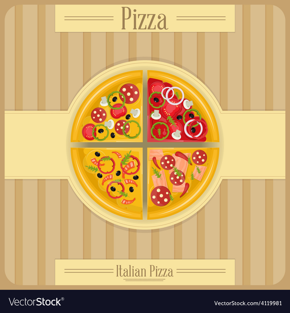Pizza box vector | Price: 3 Credit (USD $3)