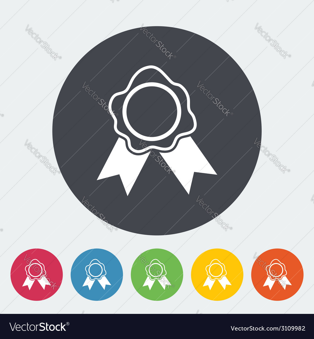 Seal icon vector | Price: 1 Credit (USD $1)