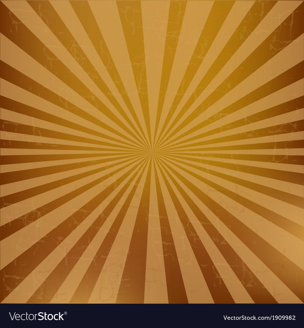 Vintage sunburst background vector | Price: 1 Credit (USD $1)