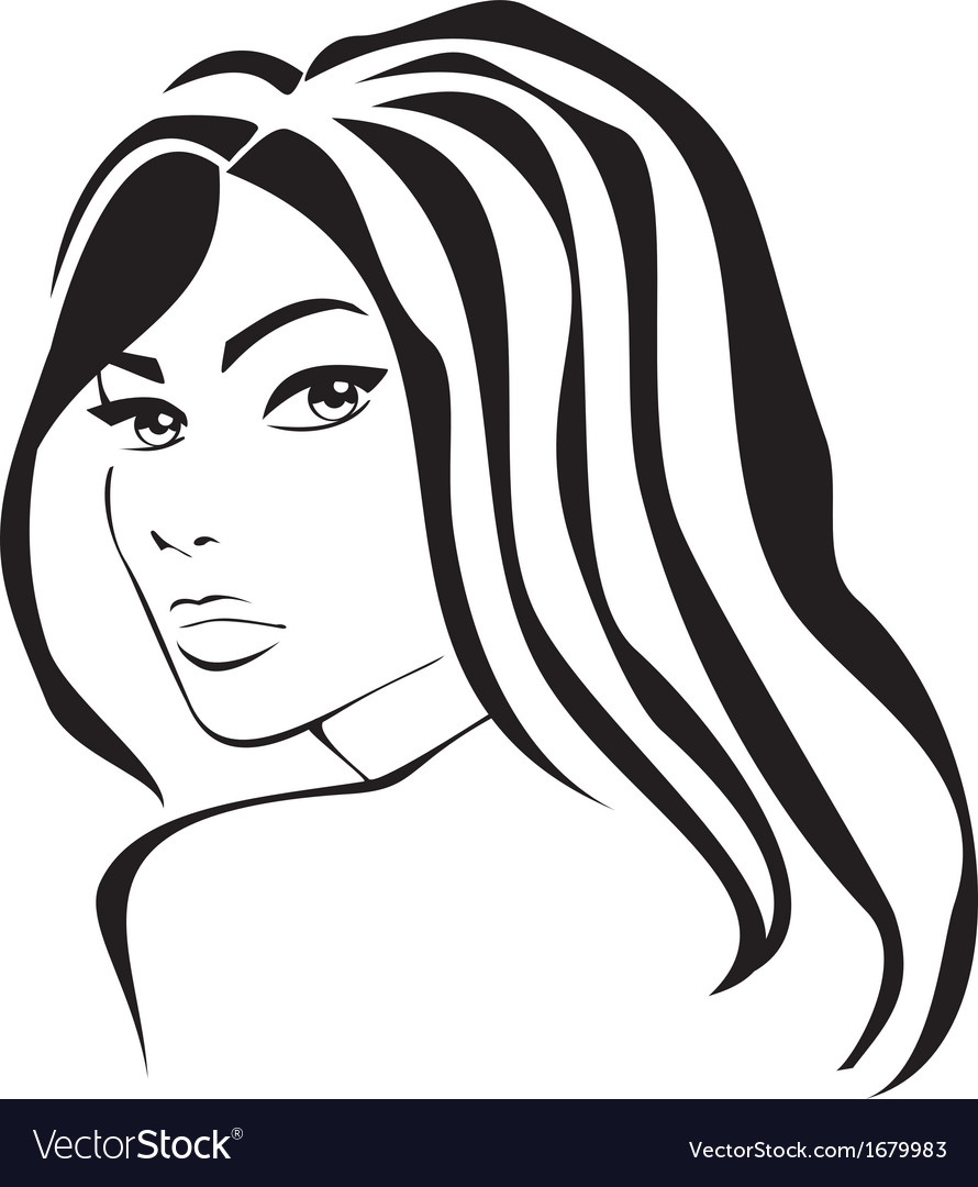 Beautiful makeup icon vector | Price: 1 Credit (USD $1)