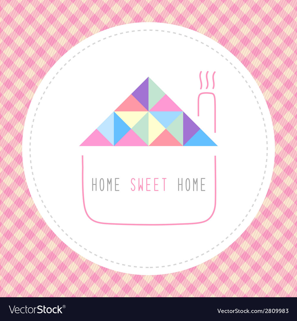 Home sweet home5 vector | Price: 1 Credit (USD $1)
