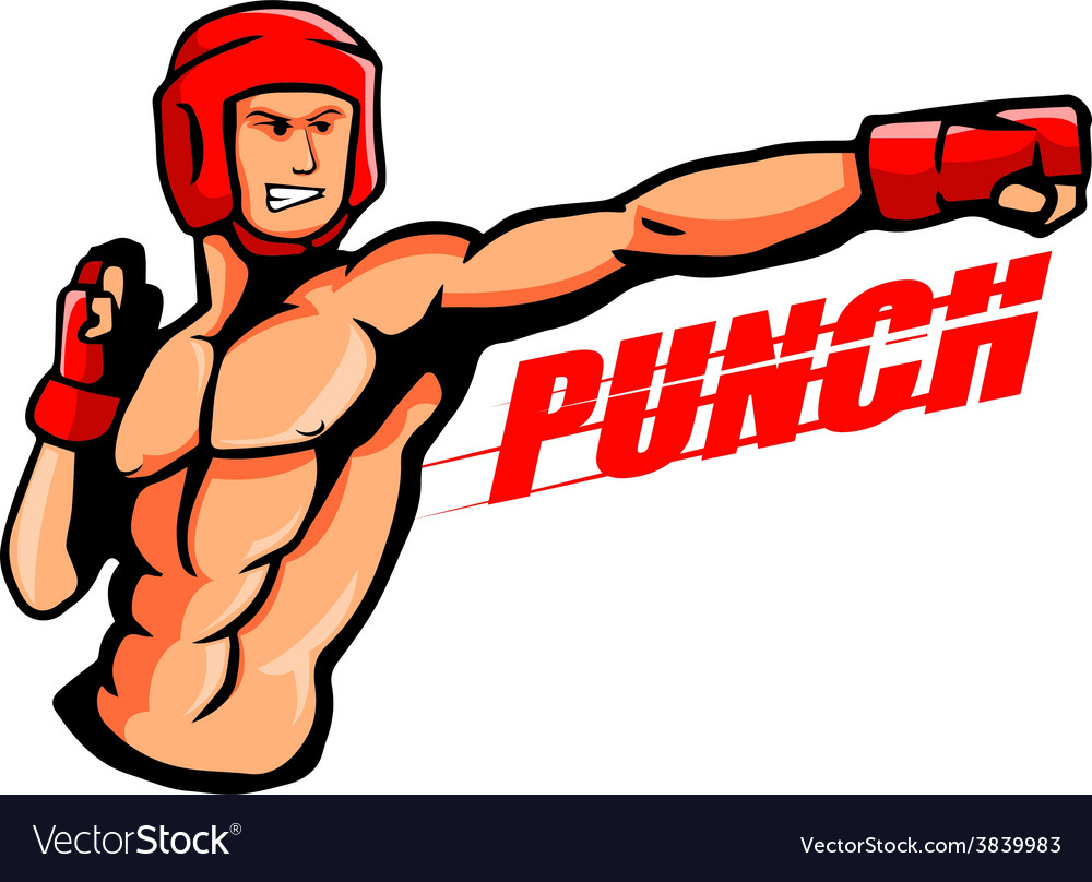 Punch vector | Price: 3 Credit (USD $3)