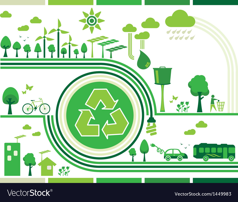 Sustainability vector | Price: 1 Credit (USD $1)