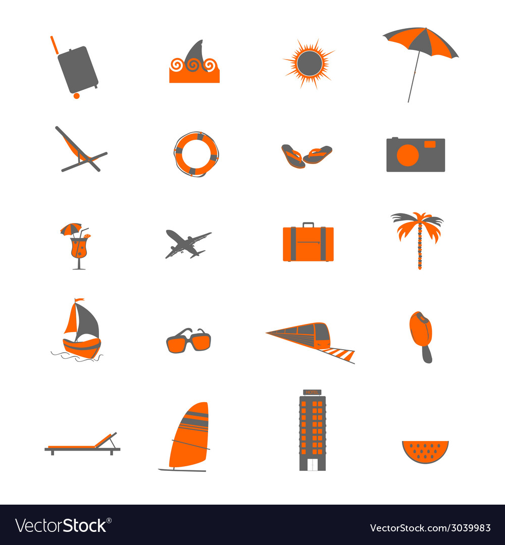 Travel object vector | Price: 1 Credit (USD $1)