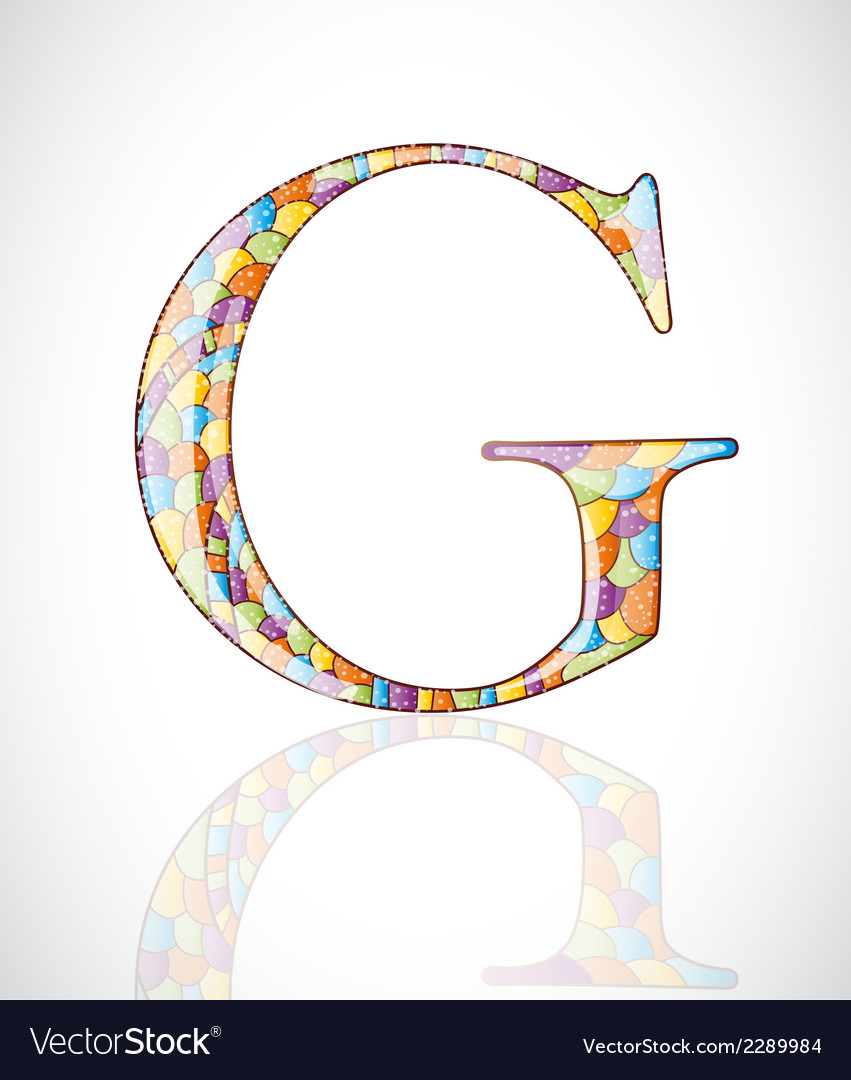 Abstract letter g vector | Price: 1 Credit (USD $1)