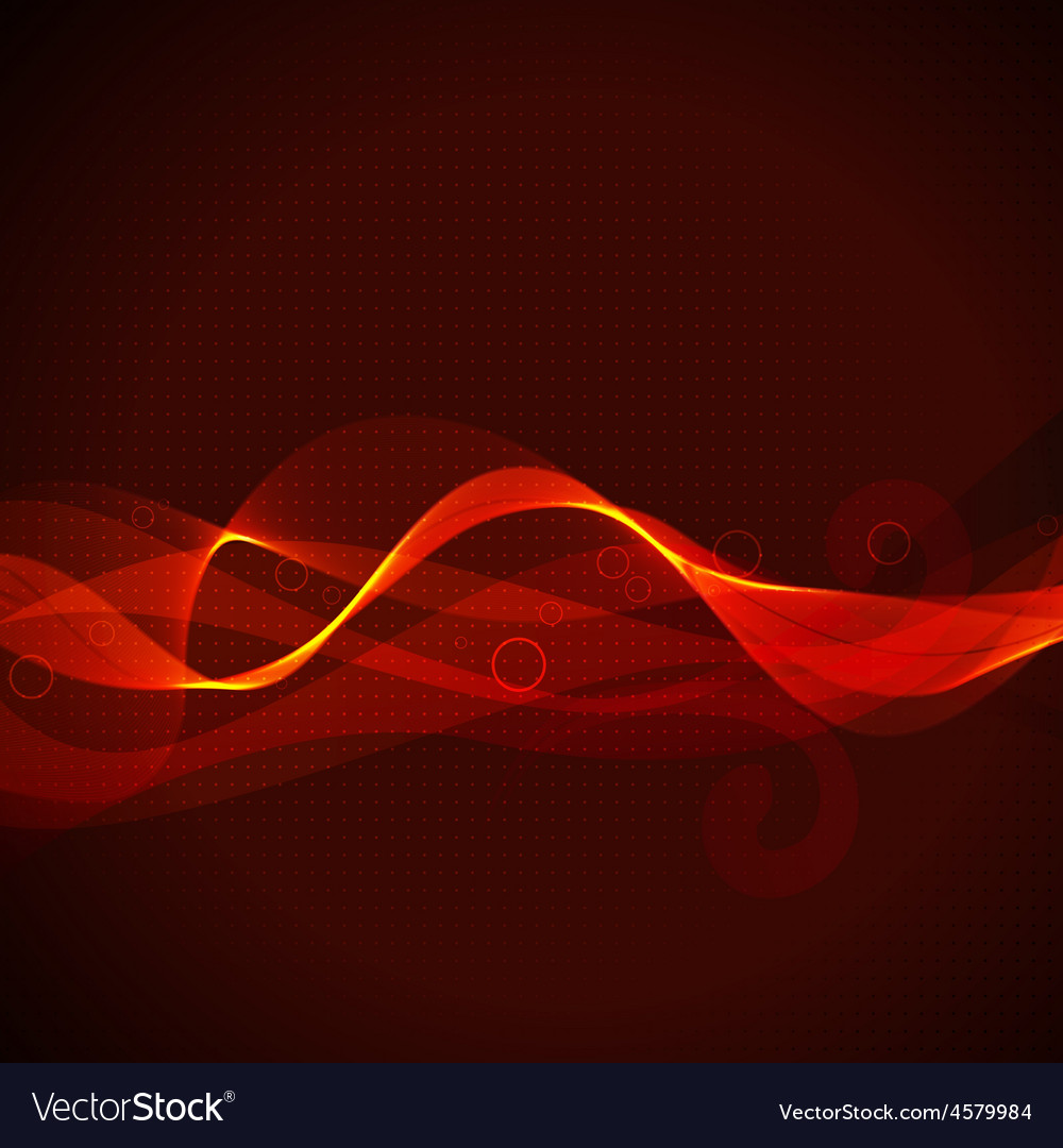 Abstract shiny glowing wave vector | Price: 1 Credit (USD $1)