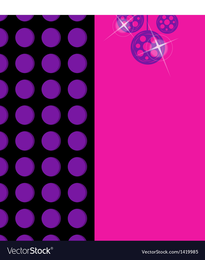 Dance party background vector | Price: 1 Credit (USD $1)