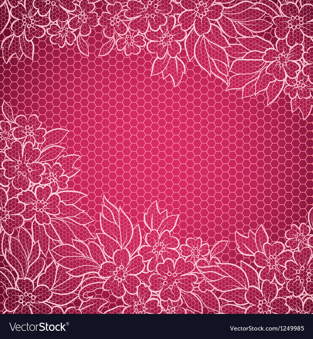 Lace background vector | Price: 1 Credit (USD $1)