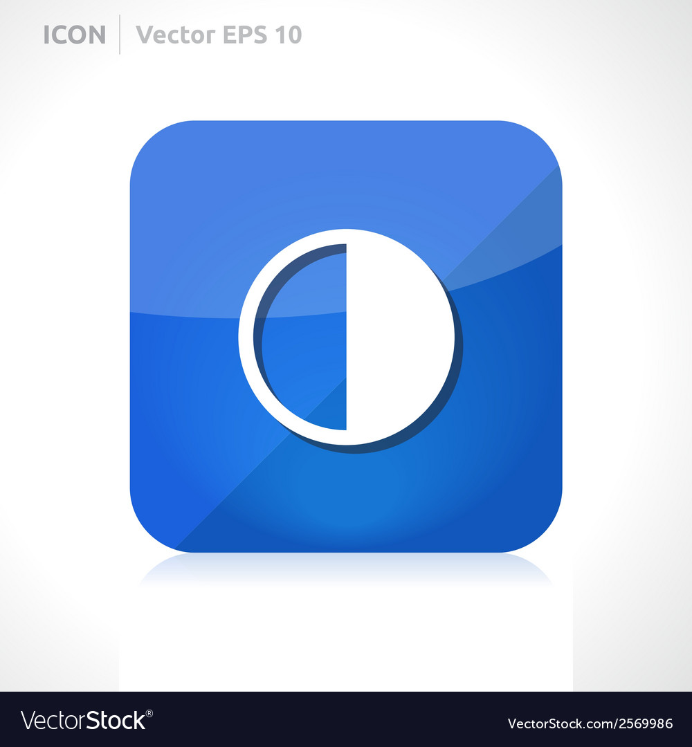 Brightness icon vector | Price: 1 Credit (USD $1)