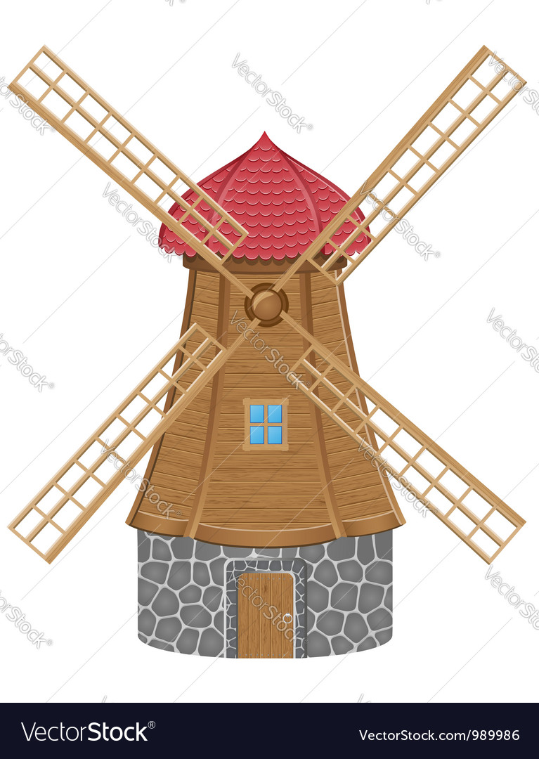 Windmill 01 vector | Price: 3 Credit (USD $3)