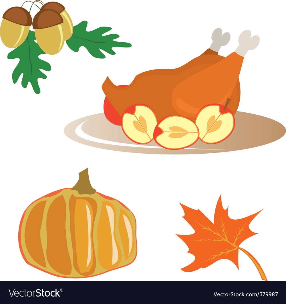 Christmas dinner vector | Price: 1 Credit (USD $1)