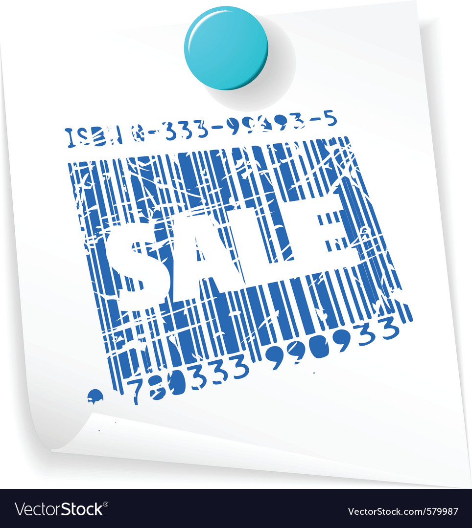 Paper sale ticket vector | Price: 1 Credit (USD $1)