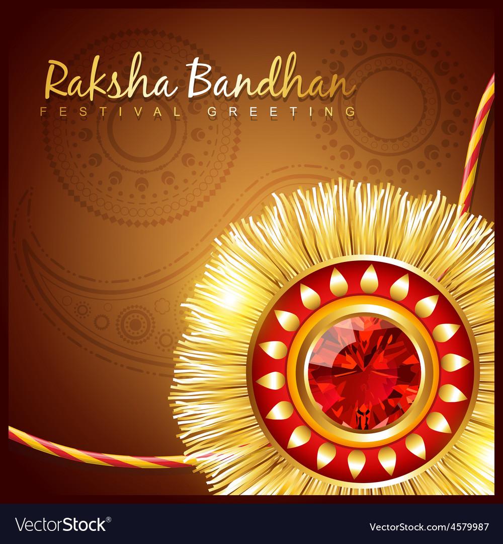 Raksha bandhan festival vector | Price: 1 Credit (USD $1)
